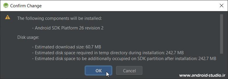 نصب Platform های SDK اندروید