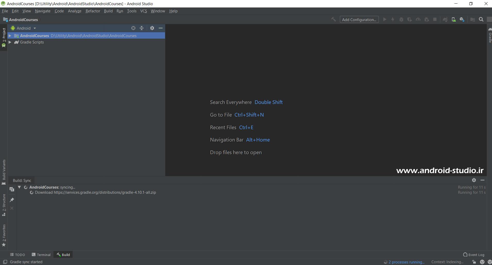 بیلد (Build) شدن پروژه اندروید