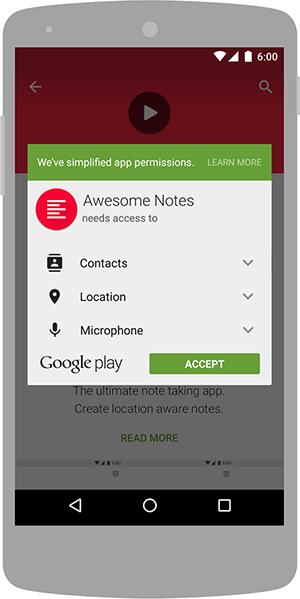 پذیرش مجوزهای اندروید قبل از نصب اپلیکیشن