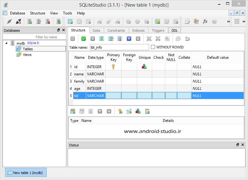 Add Database columns