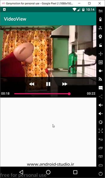 پخش ویدئو در اندروید از نقطه توقف توسط متد onRestoreInstanceState